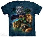 Футболка с 3D эффектом The Mountain Big Jungle Cats