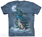 Футболка с 3D эффектом The Mountain Dragon Wolf Moon