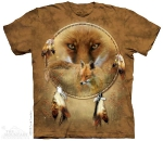 Футболка с 3D эффектом The Mountain Dreamcatcher Fox