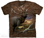 Футболка с 3D эффектом The Mountain Elk At Dusk