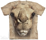 Футболка с 3D эффектом The Mountain Big Face Camel