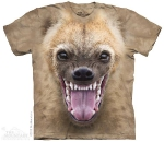 Футболка с 3D эффектом The Mountain Big Face Hyena
