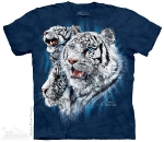 Футболка с 3D эффектом The Mountain Find 9 White Tigers
