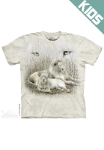 Футболка с 3D эффектом The Mountain White Lion, детская