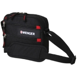 Сумка Wenger, Horizontal accessory bag, дорожная, для документов, полиэстер 600D
