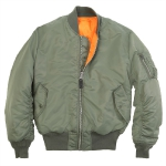 Куртка Alpha Industries MA-1, sage green