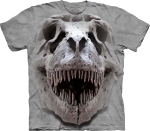 Футболка с 3D эффектом The Mountain T-Rex Big Skull