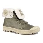 Мужские ботинки Palladium Baggy Leather S (375) olive drab/army green, 02610-375
