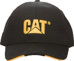Бейсболка Caterpillar CAT Logo, черная, 2128171-62B