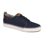 Кеды мужские Levis Justin Low Lace,736 (18) dark blue, 223286/736-18