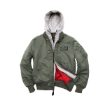 Куртка Alpha Industries MA-1 D-Teс Х, sage green