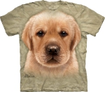 Футболка с 3D эффектом The Mountain Yellow Lab Puppy