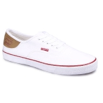 Кеды мужские Levis Jordy Buck (51) regular white, 223000/733-51