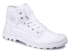 Мужские ботинки Palladium Canvas Pampa Hi (912) White/White, 02352-912