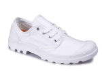 Мужские ботинки Palladium Canvas Pampa Oxford (912) White/White, 02351-912