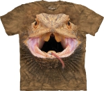 Футболка с 3D эффектом The Mountain Big Face Bearded Dragon