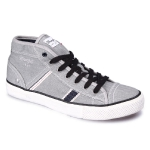 Кеды мужские Wrangler Starry Mid Canvas, lt grey, WM161033-54