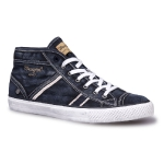 Кеды мужские Wrangler Starry Mid Denim, blue denim, WM161034-284