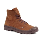 Ботинки мужские, высокие Palladium Pallabrouse Cml Sandalo/Seal Brown, 05137-277