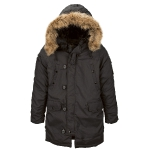 Куртка аляска Alpha Industries Altitude Parka, black