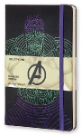 Блокнот Moleskine Limited Edition The Avengers Мстители Large, 130х210 мм, 240 стр., линейка, Hulk, 400917
