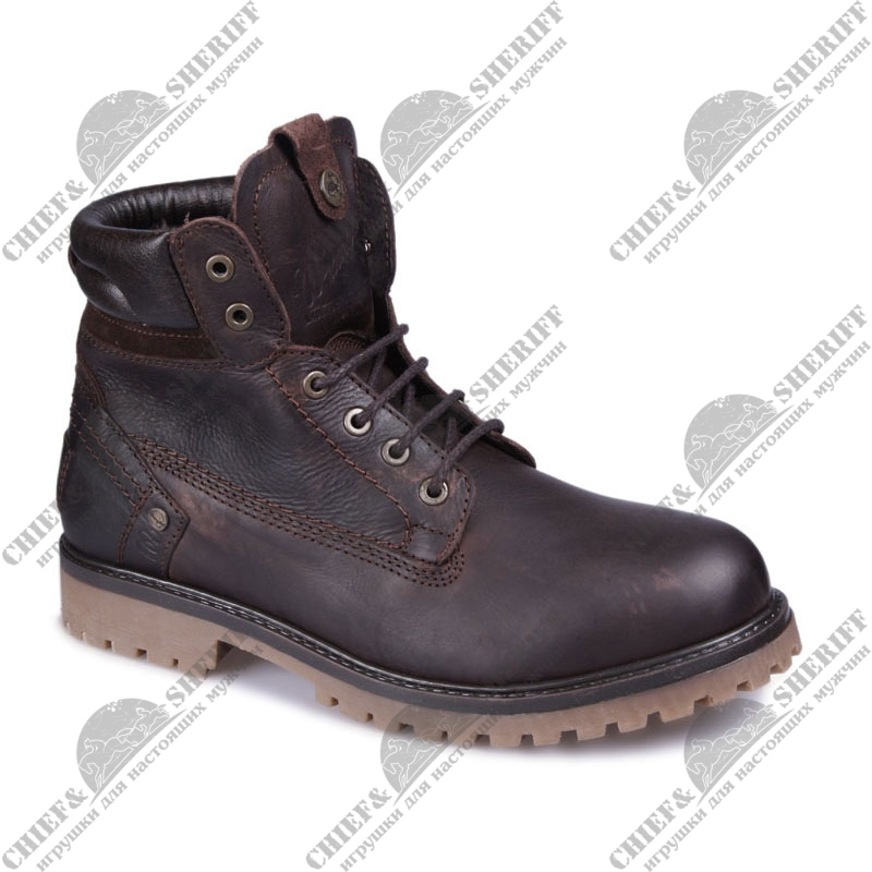 Ботинки мужские Wrangler Yuma Creek Fur (30 dk brown), WM152009/F-30