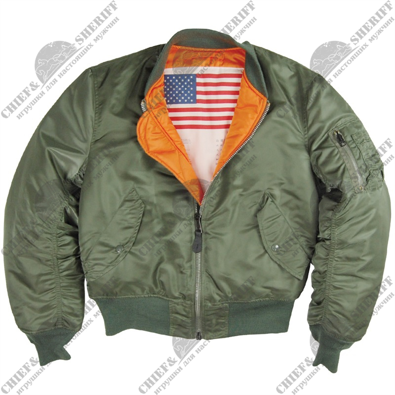 Куртка Alpha Industries MA-1 Blood Chit, sage green