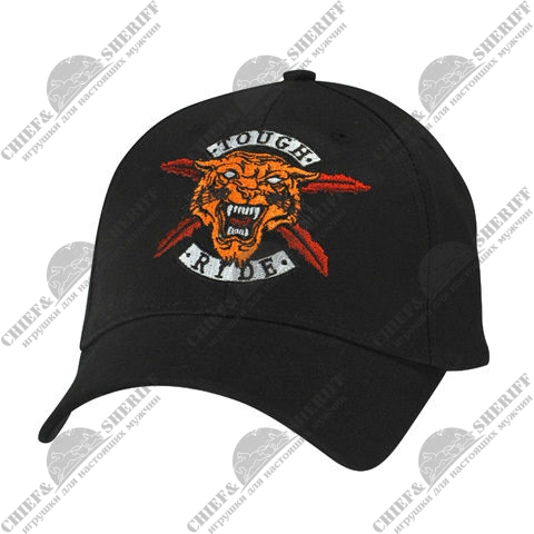 "Бейсболка Zan ""Tough Ride Tiger"" (Black)"