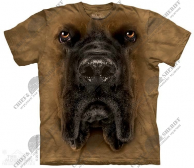 Футболка с 3D эффектом The Mountain Mastiff Face