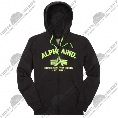 Джемпер Alpha Industries Brooks, black
