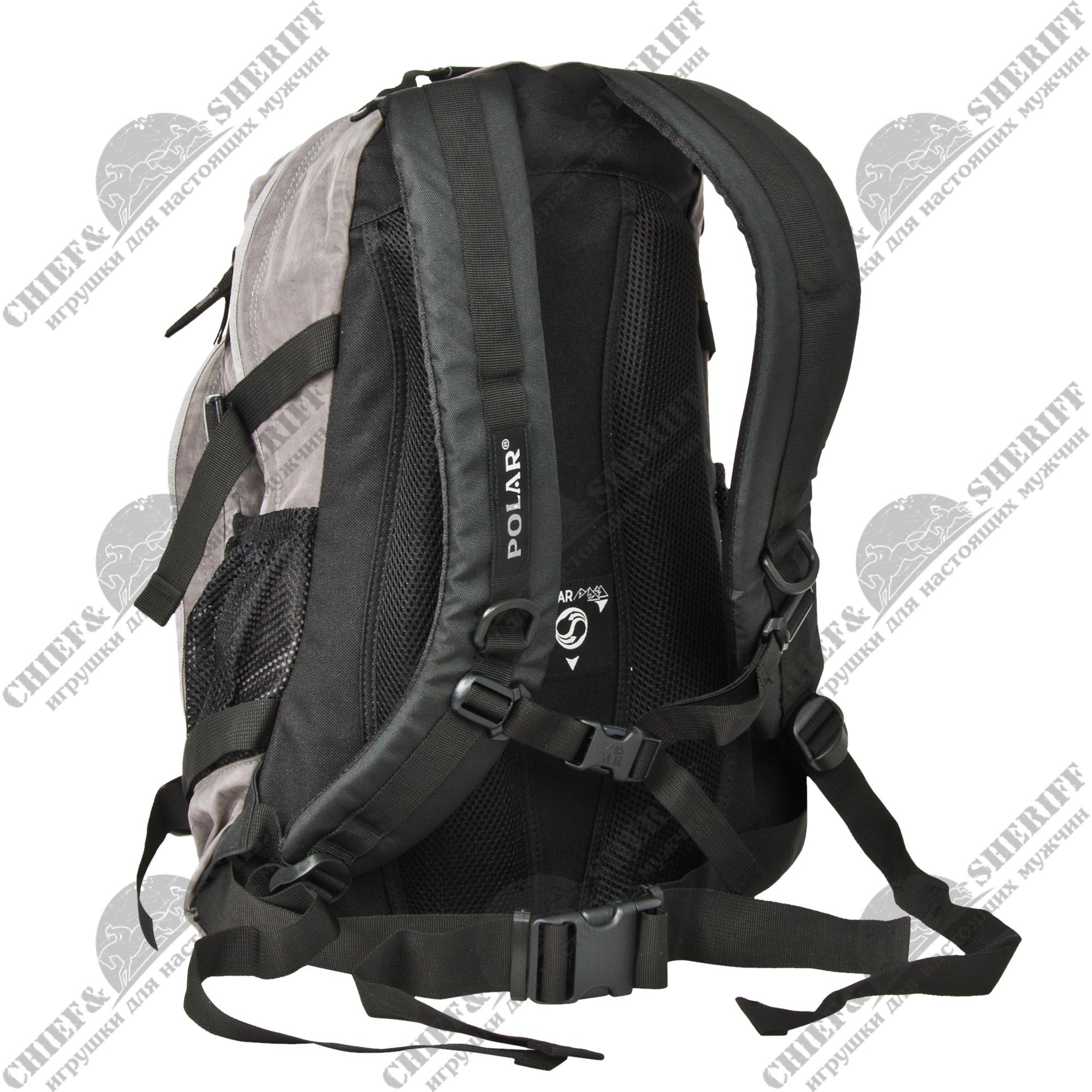 Рюкзак городской Polar П1955-06, 27 л, серый ...