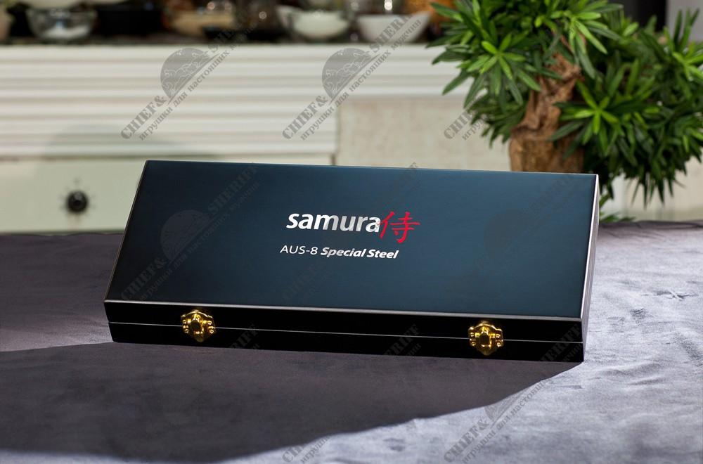 Набор ножей Samura 67 SD67-0220/K - длина лезвий 98мм 150мм 208мм