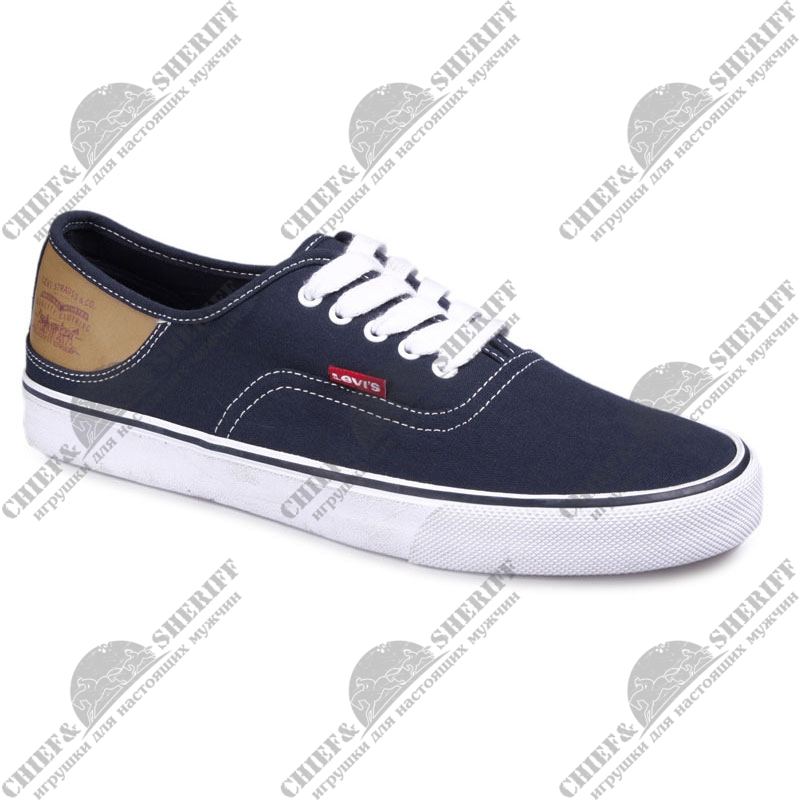 Кеды мужские Levis Jordy Buck (17) navy blue, 223000/733-17