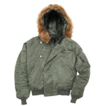 Куртка аляска Alpha Industries N-2B, green