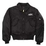 Куртка бомбер Alpha Industries CWU-45P Nomex Mil-Spec Flight Jacket,  black