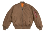 Куртка бомбер Alpha Industries MA-1 Flight Jacket, coyote brown