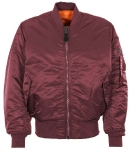 Куртка бомбер Alpha Industries MA-1 Flight Jacket, maroon