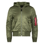 Куртка бомбер Alpha Industries MA-1 Natus Flight Jacket, sage/rust, MJM47506S/R