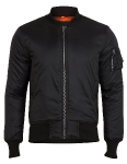 Куртка бомбер Surplus Basic Bomber, black, 20-3530-03