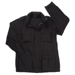 Куртка лёгкая Rothco М-65 Vintage Field Jacket Lightweight, black, 8751