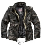 Куртка с лайнером Surplus Regiment M65 Jacket, black camo, 20-2501-42