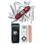 Набор Victorinox Expedition Kit: нож, чехол, линейка, компас, лупа, термометр, уровень, точилка, 41 функция 1.8741.AVT