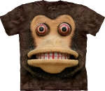Футболка с 3D эффектом The Mountain Big Face Cymbal Monkey