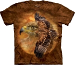 Футболка с 3D эффектом The Mountain Tawny Eagle