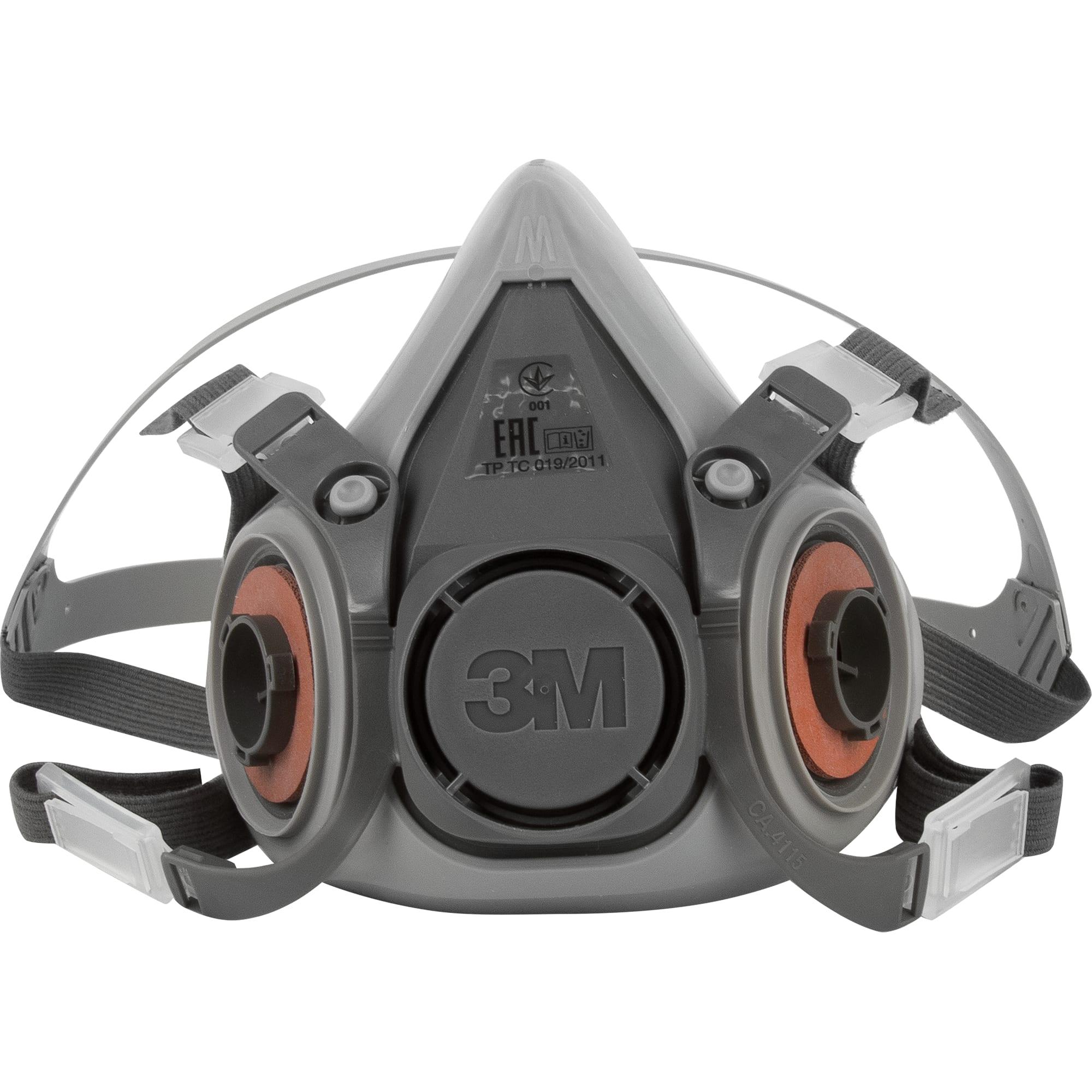 Полумаска-респиратор 3М 6200 (Серия 6000, размер М)