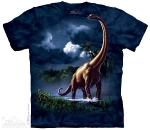 Футболка с 3D эффектом The Mountain Brachiosaurus