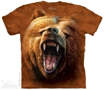 Футболка с 3D эффектом The Mountain Grizzly Growl