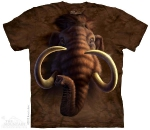 Футболка с 3D эффектом The Mountain Mammoth Head