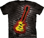 Футболка с 3D эффектом The Mountain Tie- Dye Electric Guitar