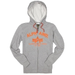 Джемпер Alpha Industries Brooks, heather grey